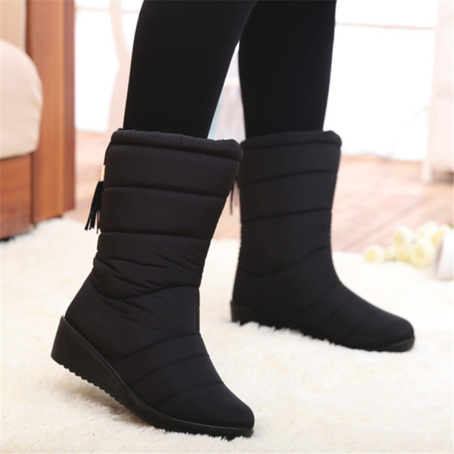 Mid-Calf Waterproof All-season Boots