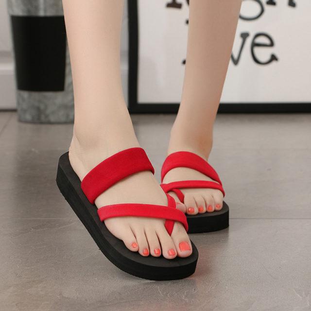 Soft Summer Beach Slippers