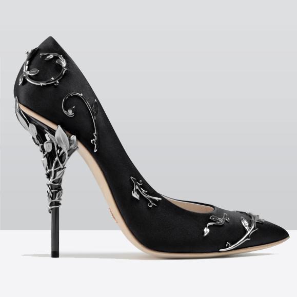 Elegant Silk Women's Pumps