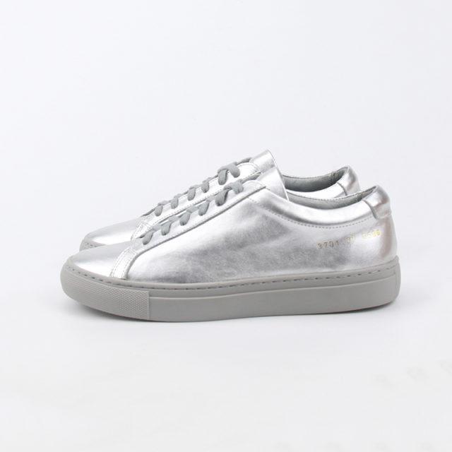 Women's Metallic Leather Sport Shoes