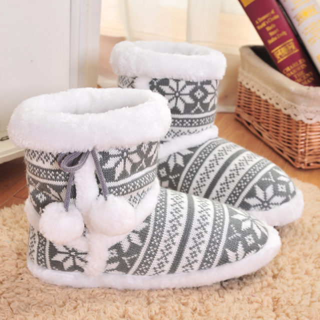 Women`s Winter Soft Warm Plush Slippers