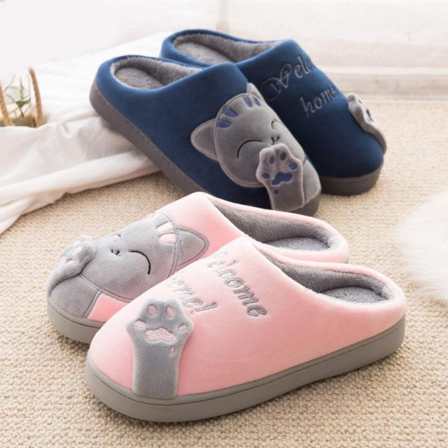 Women`s Winter Non-Slip Soft Slippers