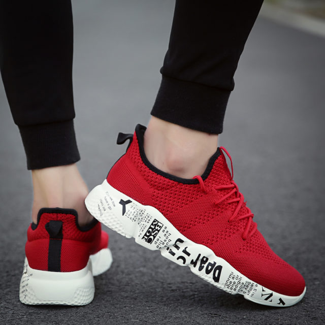 Men's Breathable Street Style Sneakers