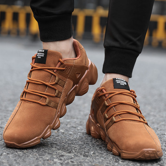 Men's Comfortable Street Style Sneakers