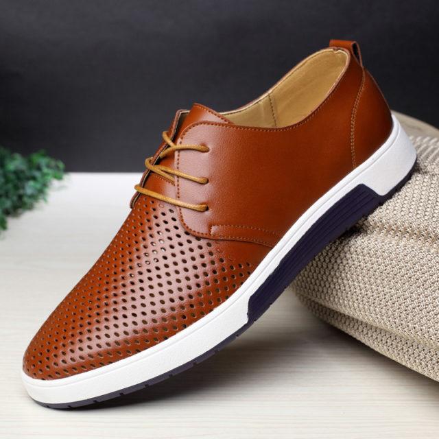 Elegant Summer Breathable Men's Shoes