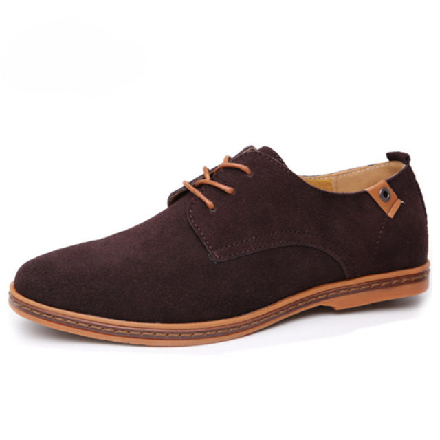 Men's Casual Suede Leather Shoes