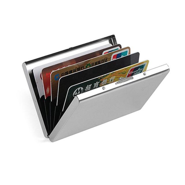 Men's Metal Card Holder