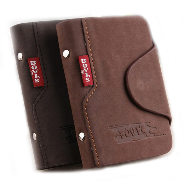 Men's Leather Cardholder