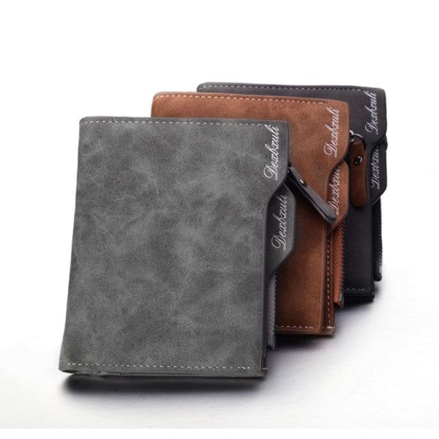 Vintage Soft Men's PU Leather Wallet