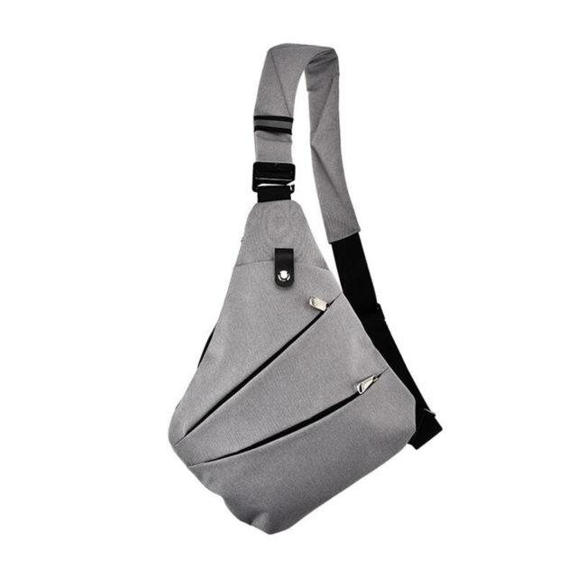 Men's Waterproof Nylon Shoulder Bag