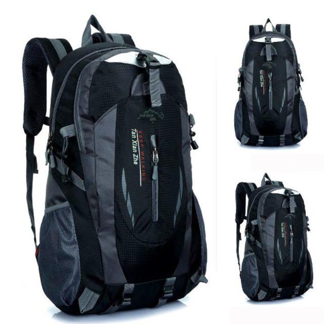 Men's Waterproof Travel Nylon Backpack