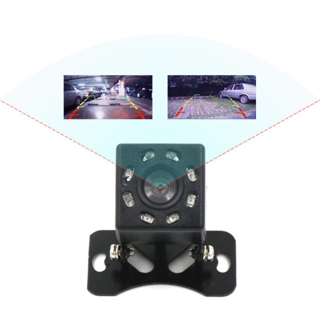 LED Night Vision Waterproof Rear View Camera