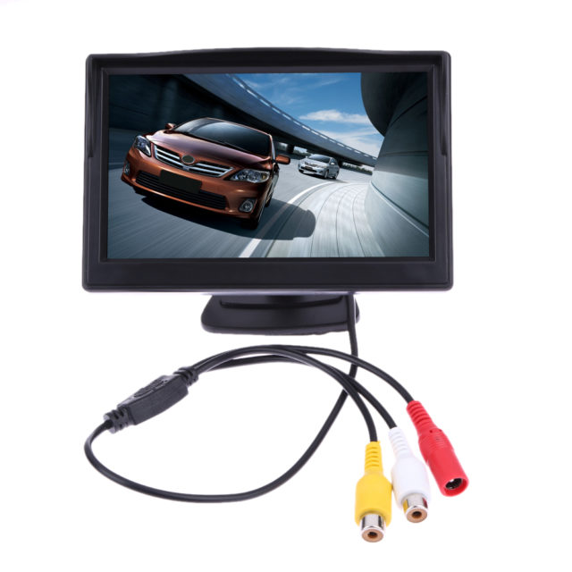 5 Inch LCD Rear View Display
