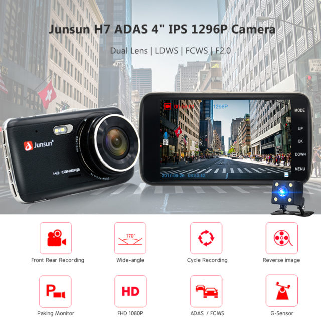 4.0″ Full HD Car DVR Camera