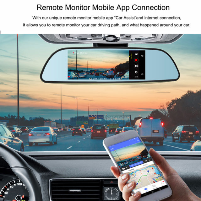 6.5″ Car DVR 3G Camera Full HD