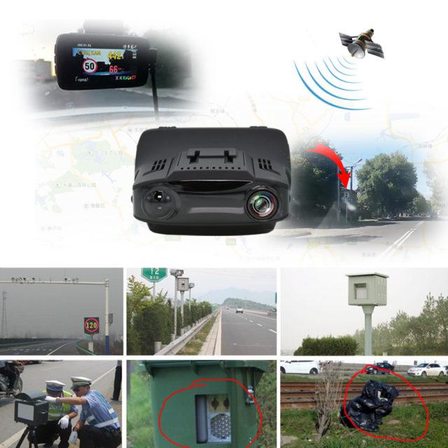 3 in 1 Car DVR Camera HD 1080P