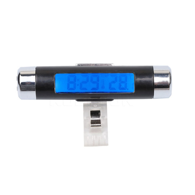 Clip-on Digital Car Thermometer