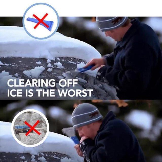 Windshield Сone Shaped Ice Scraper