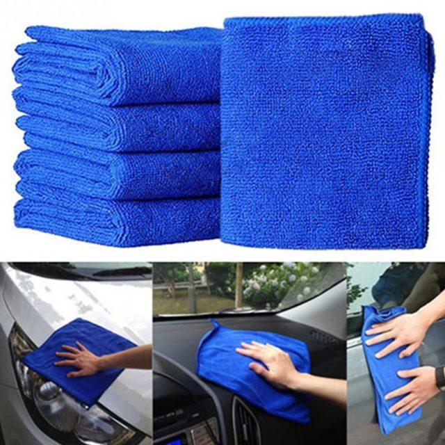 Car Windshield Cleaning Microfibre Towels 5 pcs Set