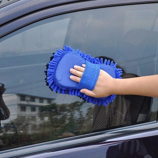 Car Washing Microfiber Gloves