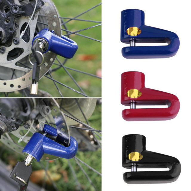 Anti Theft Motorcycle Disk Brake Lock