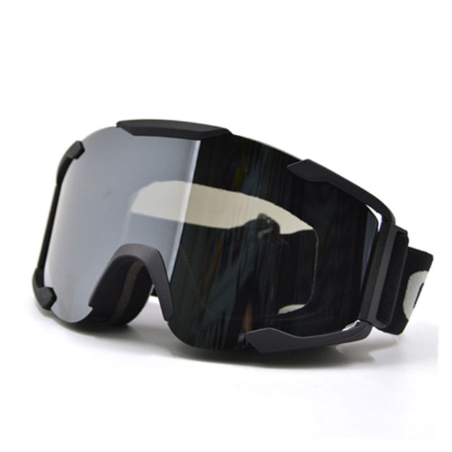 Motorcycle ProtectiveGoggles with Transparent Lenses