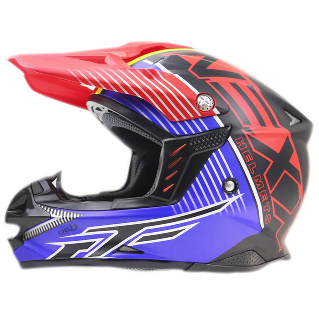 Racing Style Open Face Motorcycle Helmet