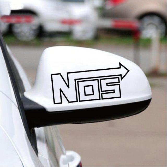 Racing Emblem Car Decals