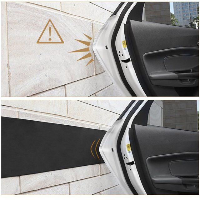 Anti-Crash Self-Adhesive Rubber Car Door Protector