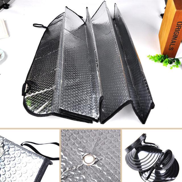 Universal Reflective Aluminum Foil Car Windshield Cover