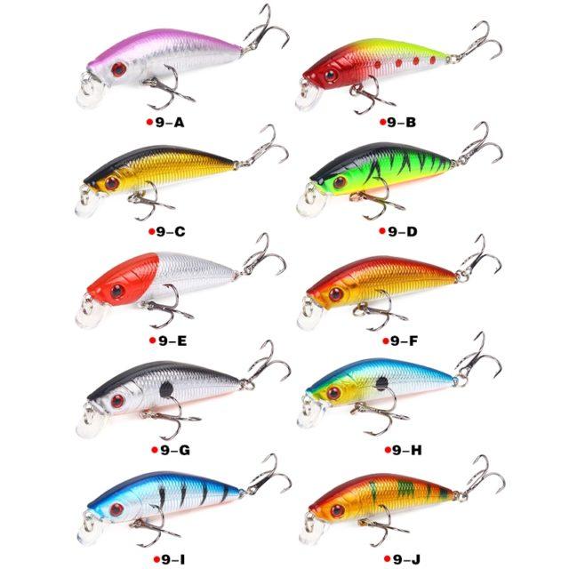3D Eyes Plastic Fishing Lure 7 cm