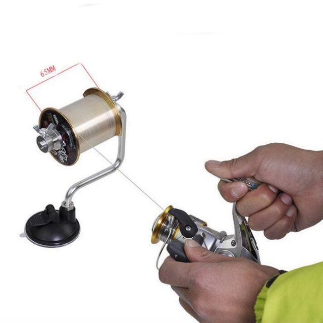 Portable Aluminum Fishing Line Winder