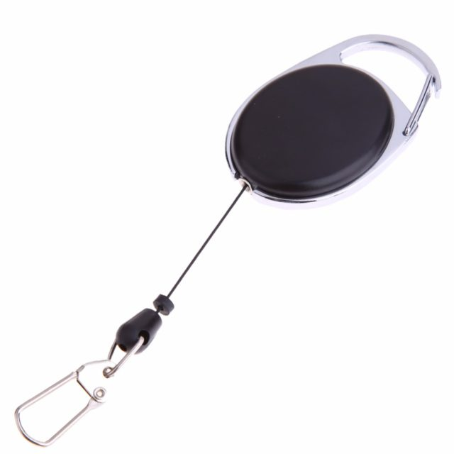 Useful Convenient Retractable Durable Camping Keychain
