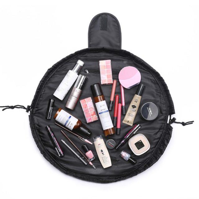 Flamingo Printed Cosmetic Bag