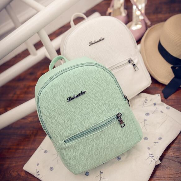 Women's Small Leather Backpack