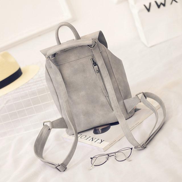 Vintage Solid Women's Backpack