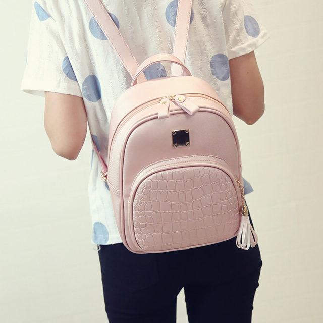 Fashion Women's PU Leather Backpack