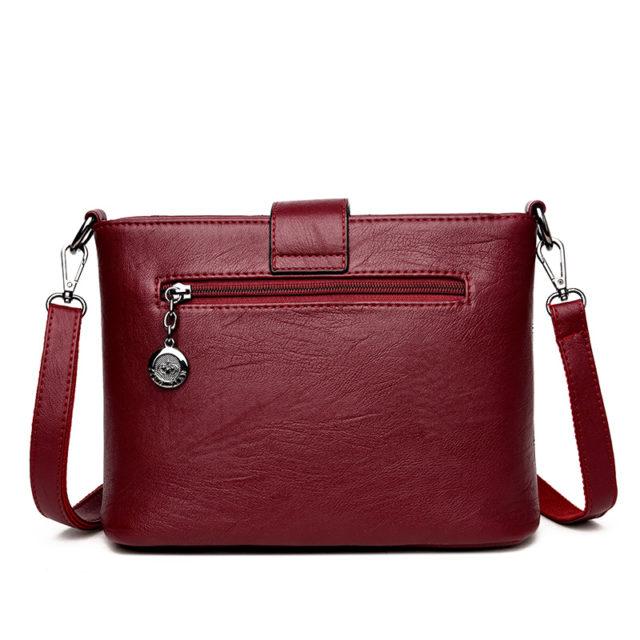 Women's Flap Leather Crossbody Bags