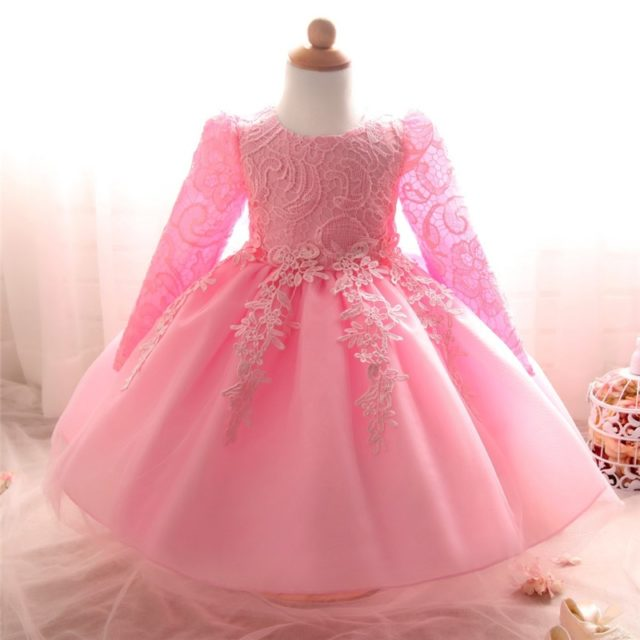 Baby Girl's Ball Gown Dress with Bow