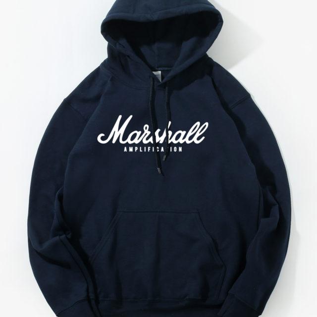 Men's Casual Marshall Printed Hoodie
