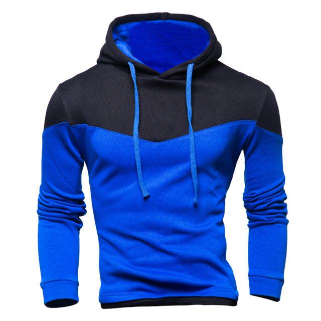 Men's Athletic Color Block Hoodies