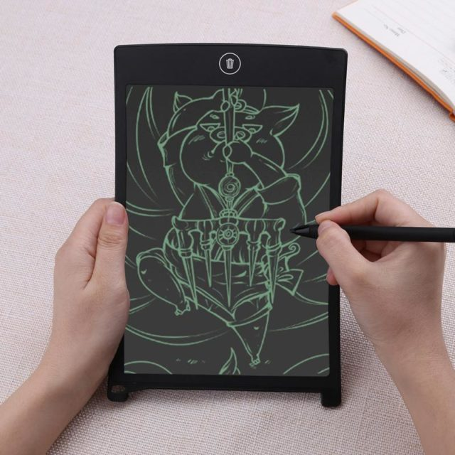 LCD Writing Tablet with 8.5 inch Digital Drawing Screen