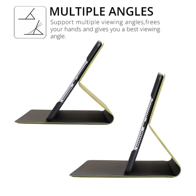 Deer Patterned Leather Magnet Tablet Case for iPad
