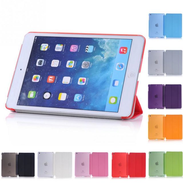 Smart Stand Flip Cases For iPad