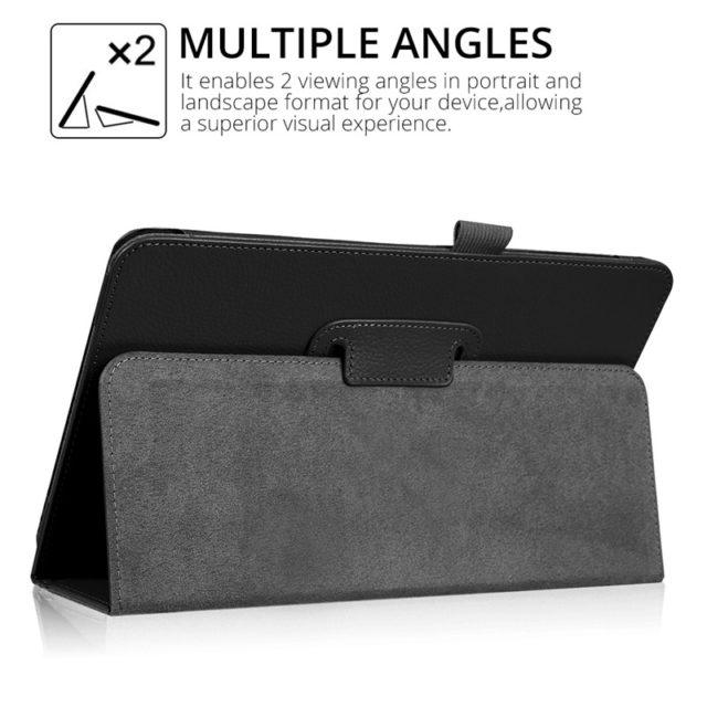 Slim Folding PU Leather Case for Samsung Galaxy Tab A