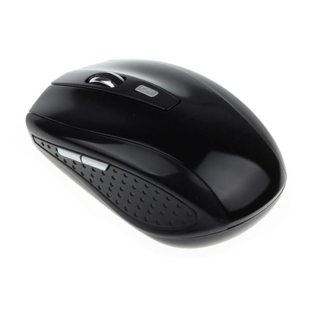 Compact Wireless Optical Mouse