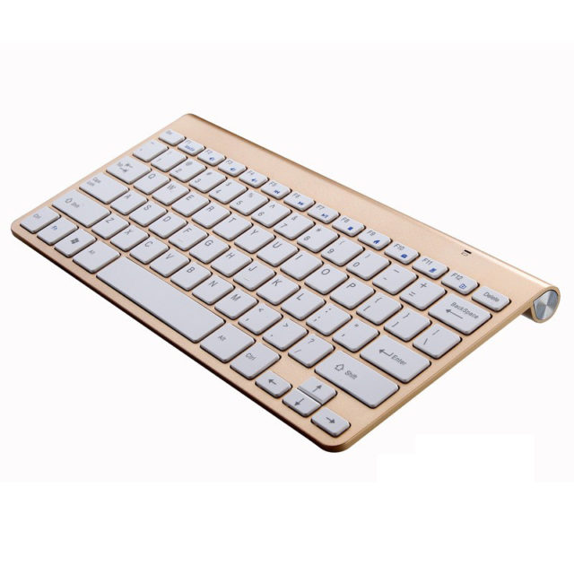 Portable Mute Keys Keyboard