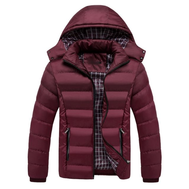 Men's Winter Quilted Down Jacket