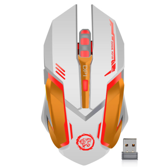 Wireless Ergonomic Gaming Mouse