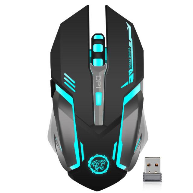 Wireless Ergonomic Gaming Mouse